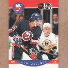 1990 Pro Set Hockey Don Maloney Islands #187