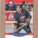 1990 Pro Set Hockey Brent Sutter Islands #191
