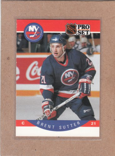 1990 Pro Set Hockey Brent Sutter Islands #191