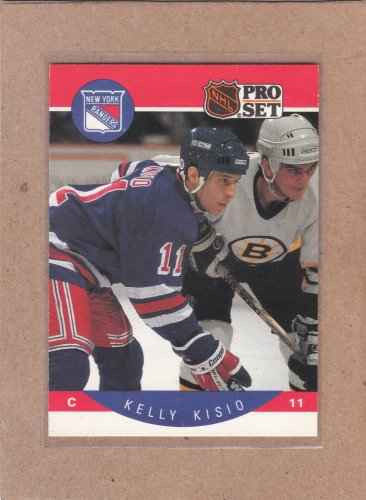 1990 Pro Set Hockey Kelly Kisio Rangers #200