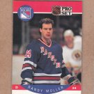1990 Pro Set Hockey Randy Moller Rangers #202