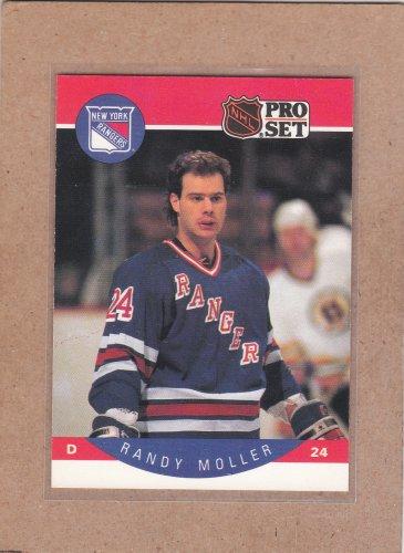 1990 Pro Set Hockey Randy Moller Rangers #202