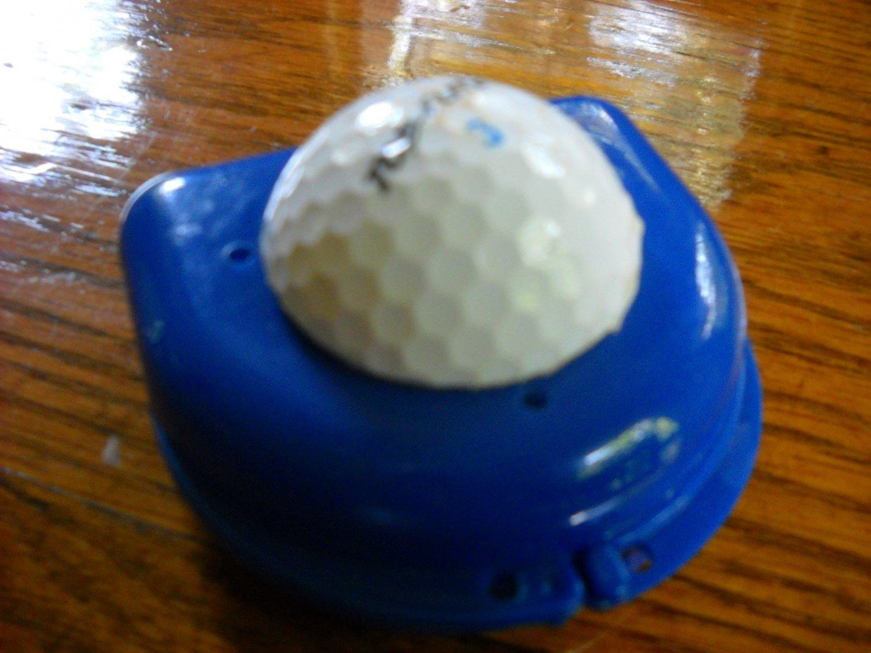 Golf Decorative partial bridge denture case container