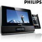 PHILIPS® 7 INCH PORTABLE DOCKING ENTERTAINMENT SYSTEM
