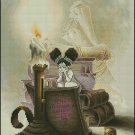 Pascal Moguerou Art Cross Stitch Chart Fairy reading a book