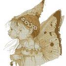 Monge Jean-Baptiste Fantasy Art Cross Stitch Chart Two Fairies
