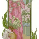 Elisabeth Sonrel Fleur des Serre Cross Stitch and Needlepoint Chart