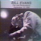 Bill Evans - The Last Performance 1980