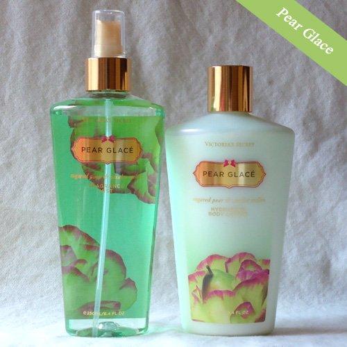 Victoria's Secret Pear Glace Body lotion & mist set