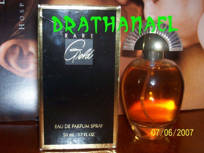 New AVON RARE GOLD Eau de Parfum Spray Fragrance 1995
