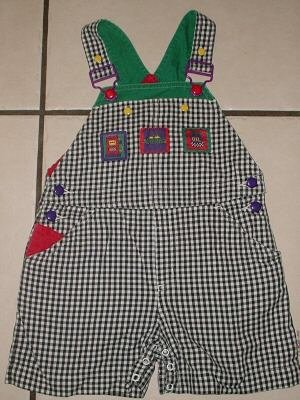 GYMBOREE Gas Pump SHORTALLS Bibs Small S 2T/3T 2/3 Boy