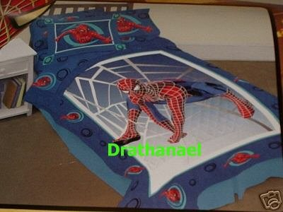 New SPIDERMAN TWIN QUILT Comforter Swings Into Action