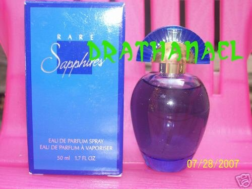 New AVON RARE SAPPHIRES EDP Parfum Spray Fragrance 2000