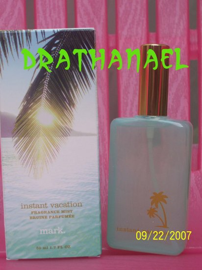 New AVON Mark INSTANT VACATION Fragrance Mist Spray 2005