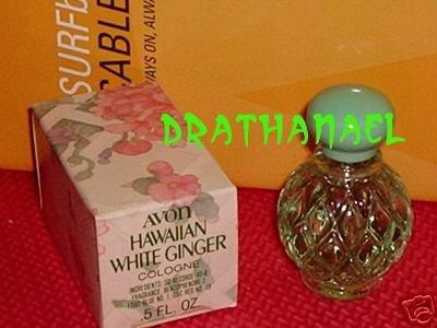 New AVON HAWAIIAN WHITE GINGER Cologne Fragrance MINI