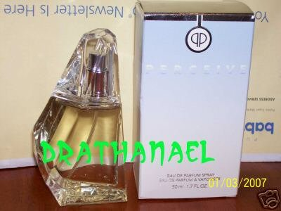 New AVON PERCEIVE Eau de Parfum Spray Fragrance EDP 1999