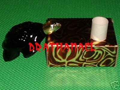 New AVON PERSIAN WOOD Fragrance Cologne Treasure Turtle