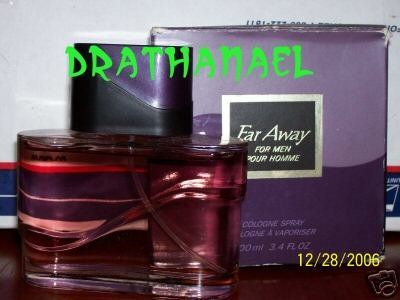 New AVON FAR AWAY for MEN Cologne Spray Fragrance 1998
