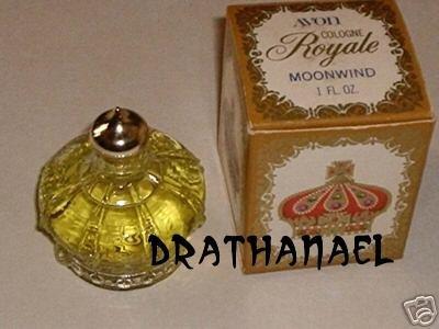 New AVON MOONWIND Cologne Fragrance Royale Crown 1972