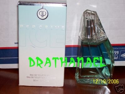 New AVON PERCEIVE ICE Cologne Spray Fragrance 2003