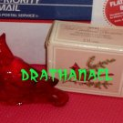 AVON CHARISMA Cologne Fragrance Red Cardinal Bird 1979