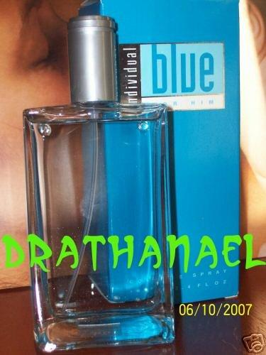 New AVON INDIVIDUAL BLUE FOR HIM Eau de Toilette Spray Men