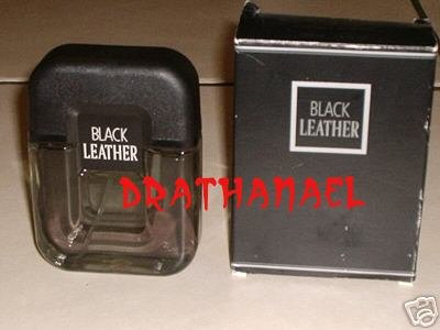 New AVON BLACK LEATHER Mens Cologne Spray Fragrance 1999