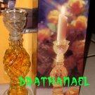 New AVON ELUSIVE Cologne Fragrance Candlestick 1973