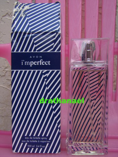 New AVON I'MPERFECT Cologne Fragrance Spray Imperfect 2004