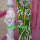 AVON LEMON VELVET Fragrance FOAMING BATH OIL Vase 1973
