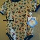 New DISNEY BABY Shirt ONESIE 24M 24 Months Mickey Mouse Guitar