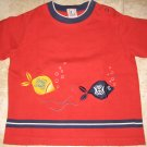 GYMBOREE SHIRT TOPS 18M 24M Rain Forest Fish Water