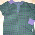 GYMBOREE AUTOBAHN SHIRT Medium 3T 4T Long Sleeve Henley