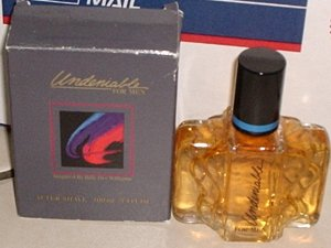 New AVON UNDENIABLE for Men Fragrance AFTER SHAVE 1991