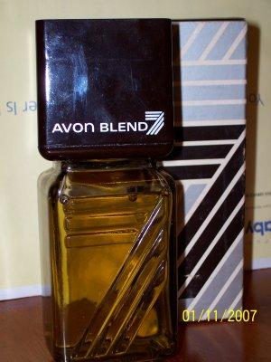 New AVON BLEND 7 Fragrance Emollient AFTER SHAVE Men