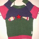 GYMBOREE SWEATER XXL XX Large Football School Days 6 7