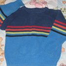 GYMBOREE SWEATER Small S 2 3 2T 3T Cross Country PRE-OWNED