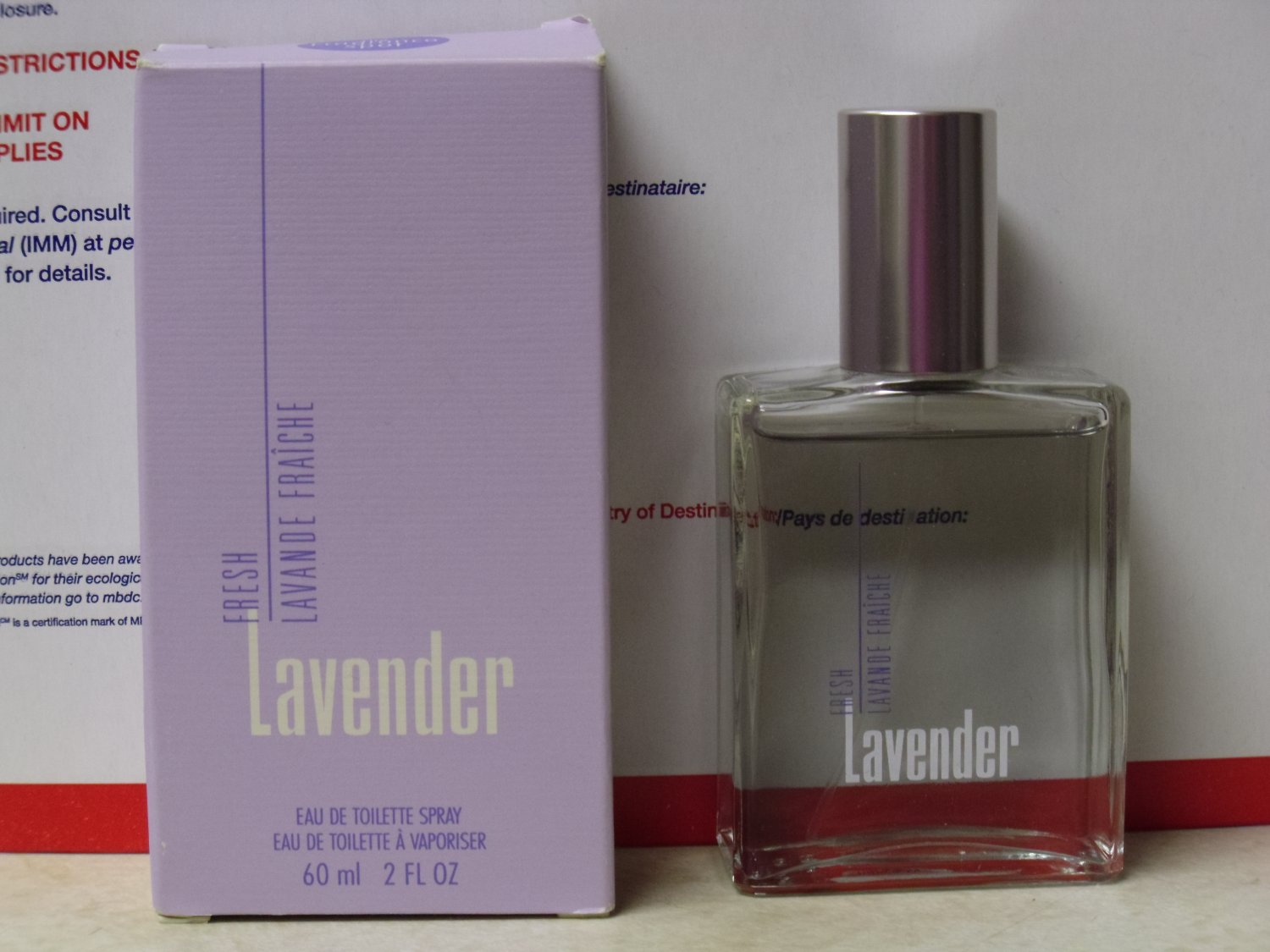 New AVON LAVENDER Eau de Toilette Spray Fragrance 1998 Women