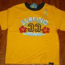 New GYMBOREE Surf Island SHIRT TOPS Sz 3 Surfing 33