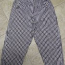 USED GYMBOREE PANTS Medium 3T 4T Plaid Aviator