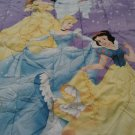 New DISNEY PRINCESSES TWIN Reversible Comforter Jasmine Cinderella Snow White