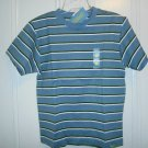 New GYMBOREE Favorite Heroes SHIRT TOPS Sz 6 Blue Stripes Short Sleeves
