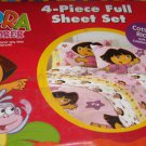 New DORA THE EXPLORER FULL Sheet Sheets SET Boots Star