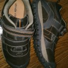 New STRIDE RITE SHOES Woodland Sneakers Boys Size 3M 3 M Brown Velcro