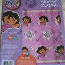 New Dora the Explorer Catch a Star Boots Monkey SHOWER CURTAIN