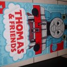 New THOMAS THE TRAIN Tank Engine BEACH TOWEL Bath Blue
