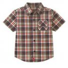 New GYMBOREE Polo SHIRT Start Your Engines 4 Plaid