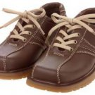 New GYMBOREE Dress SHOES Brown Sholaces Size 2 Big Boys