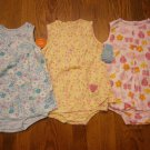 3 New Carter's Child of Mine Romper Sundress 24M 24 M Lot Dress Bug Strawberry