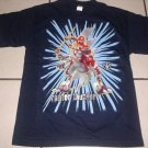 New POWER RANGERS SHIRT Tops Raptor Thunder Sz L 12 14 Large Blue Boy